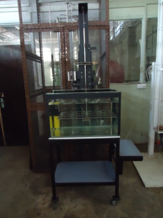 Fish feed testing machine