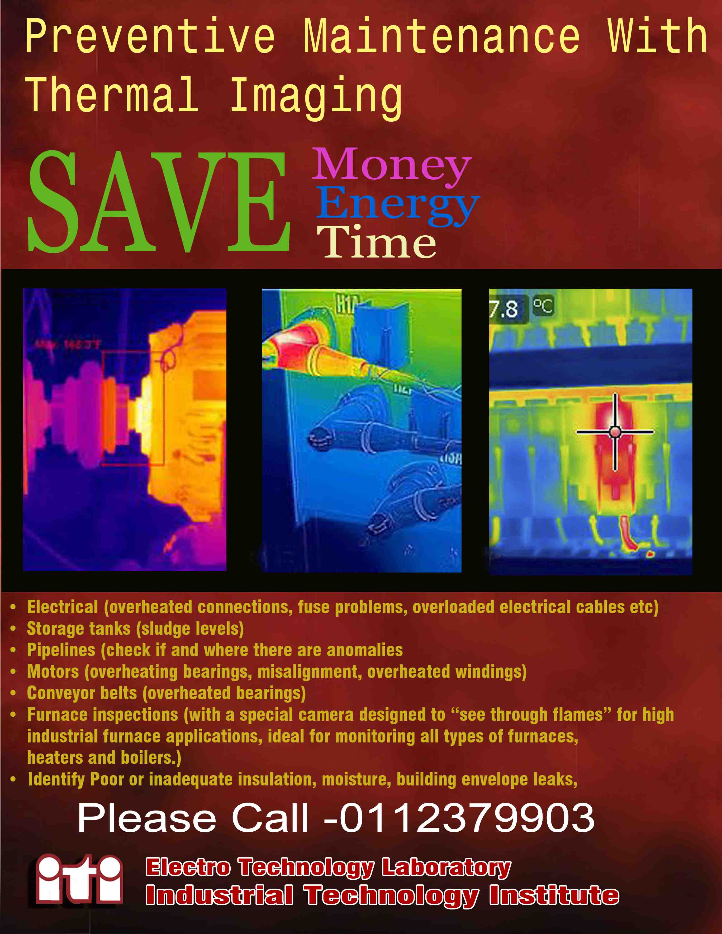 Thermal imageing poster copy