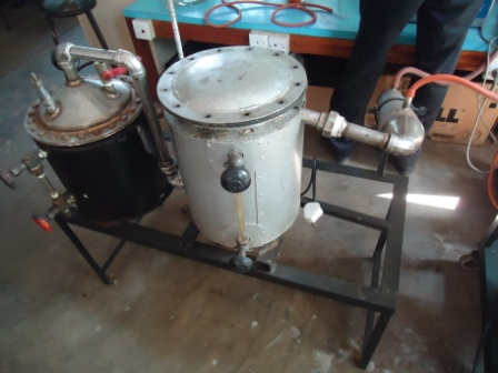 herble oil distillation unit